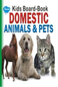 Kids Board Book Domestic Animals & Pets