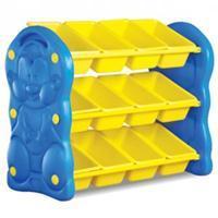 yellow Toy Shelfs