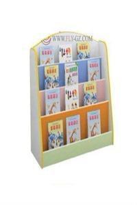 multi color Wooden Book Shelf