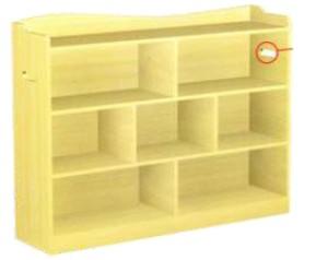 Wooden Shelf 140CM