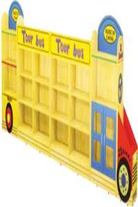 Wooden Shelf Bus