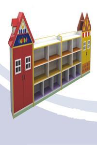 Wooden Shelf House