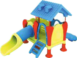 Outdoor Play Station step and swing